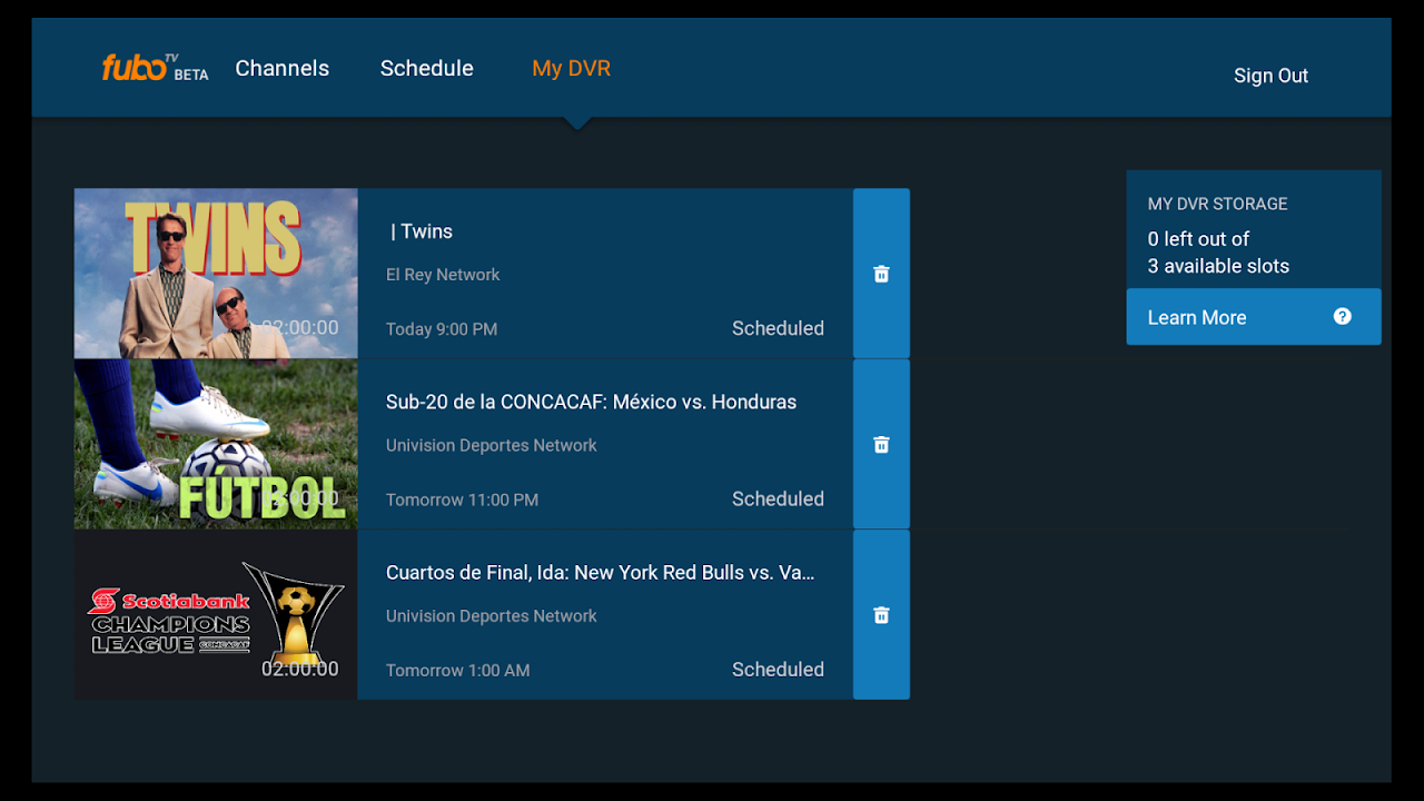 fuboTV - Live Sports and TV 2.2.5-androidtv Screen 2
