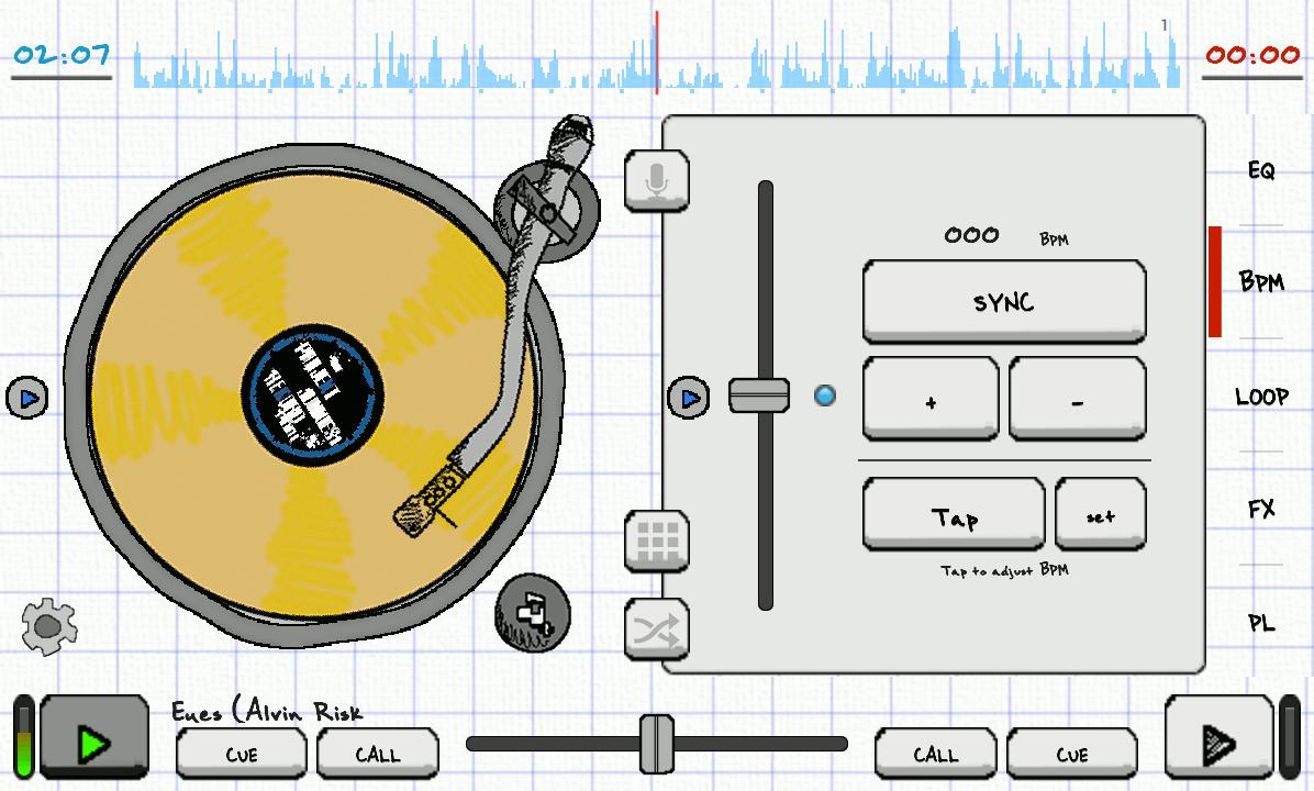 Android DJStudio Screen 5