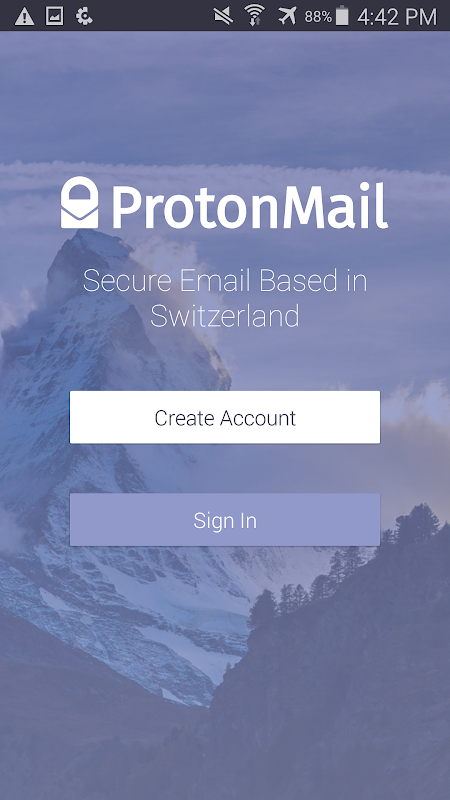 ProtonMail - Encrypted Email 1.10.3 Screen 6