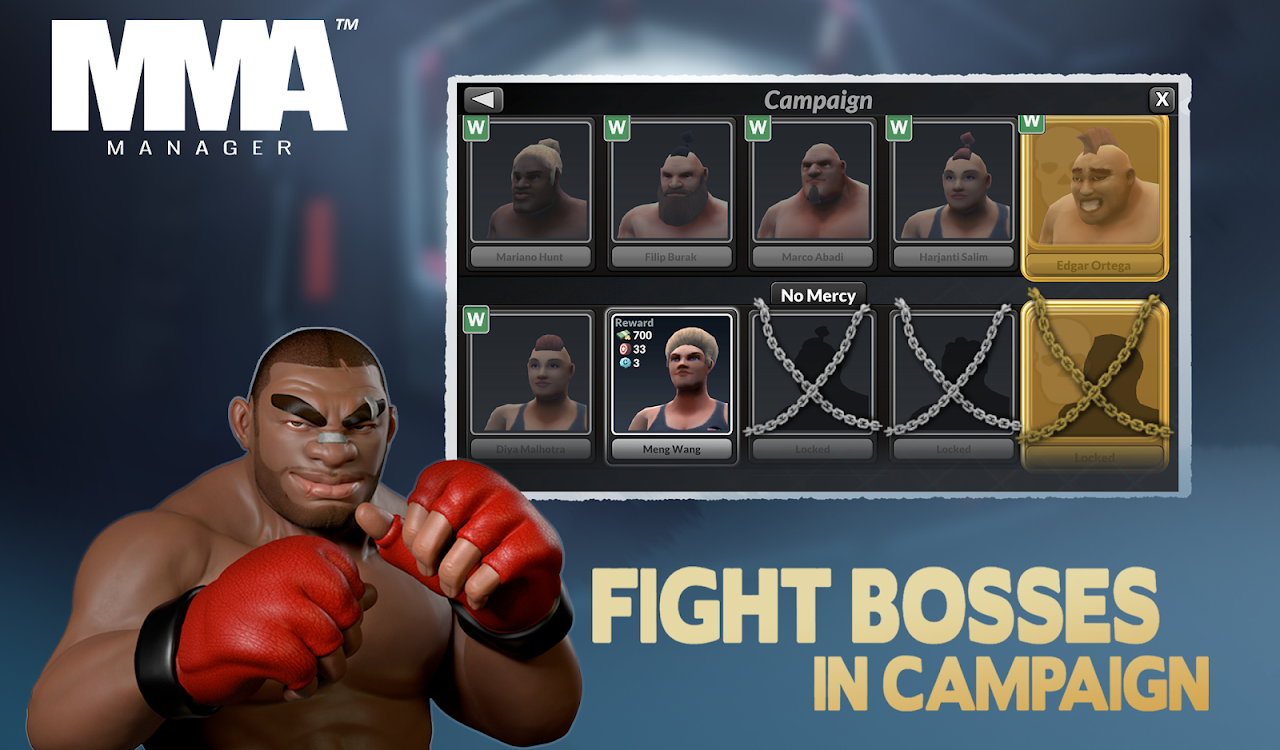MMA Manager 0.8.4 Screen 15