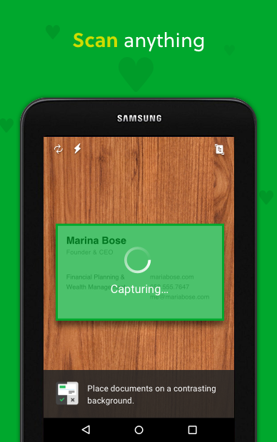 Android Evernote - stay organized. Screen 15