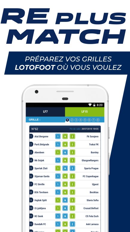 Android ParionsSport Point De Vente® Screen 2