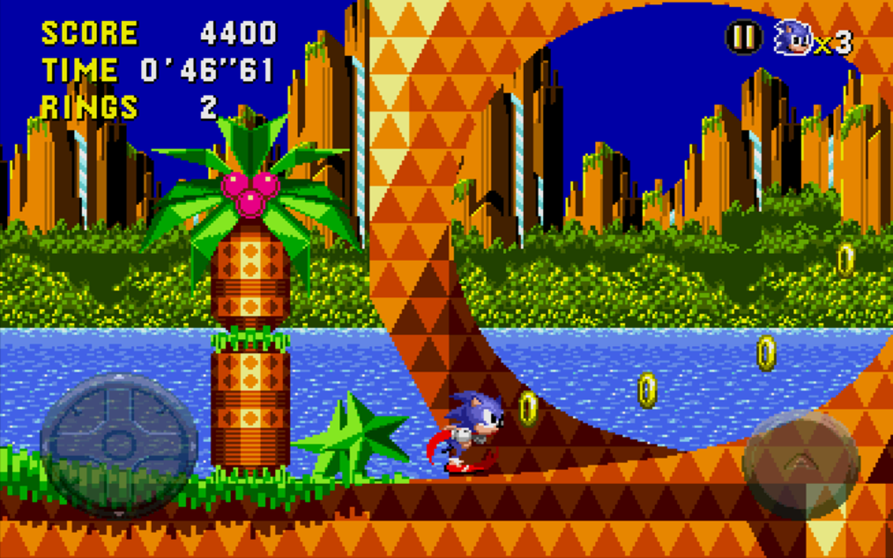 Android Sonic CD Screen 1