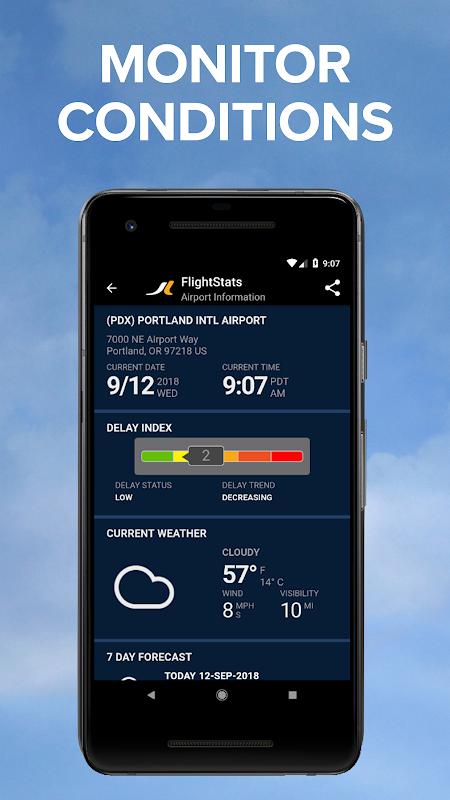 FlightStats 2.2.1 Screen 2