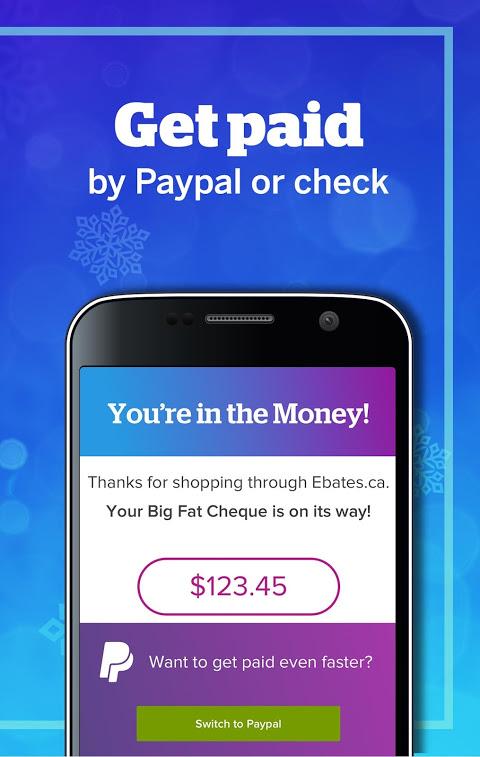 Ebates Canada: Shop Online & Earn Cash Back 5.0.0 Screen 4
