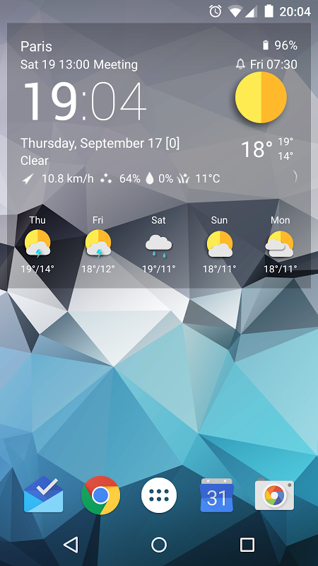 TCW material weather icon pack 0.50.04 Screen 2