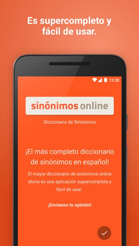 Diccionario Sinónimos Offline 2.7.0 Screen 5
