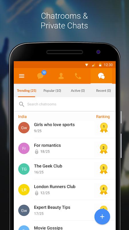 Nimbuzz Messenger / Free Calls 6.0.0 Screen 4