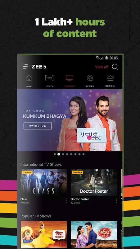 ZEE5 - Movies, TV Shows, LIVE TV & Originals 11.2.134 Screen 3