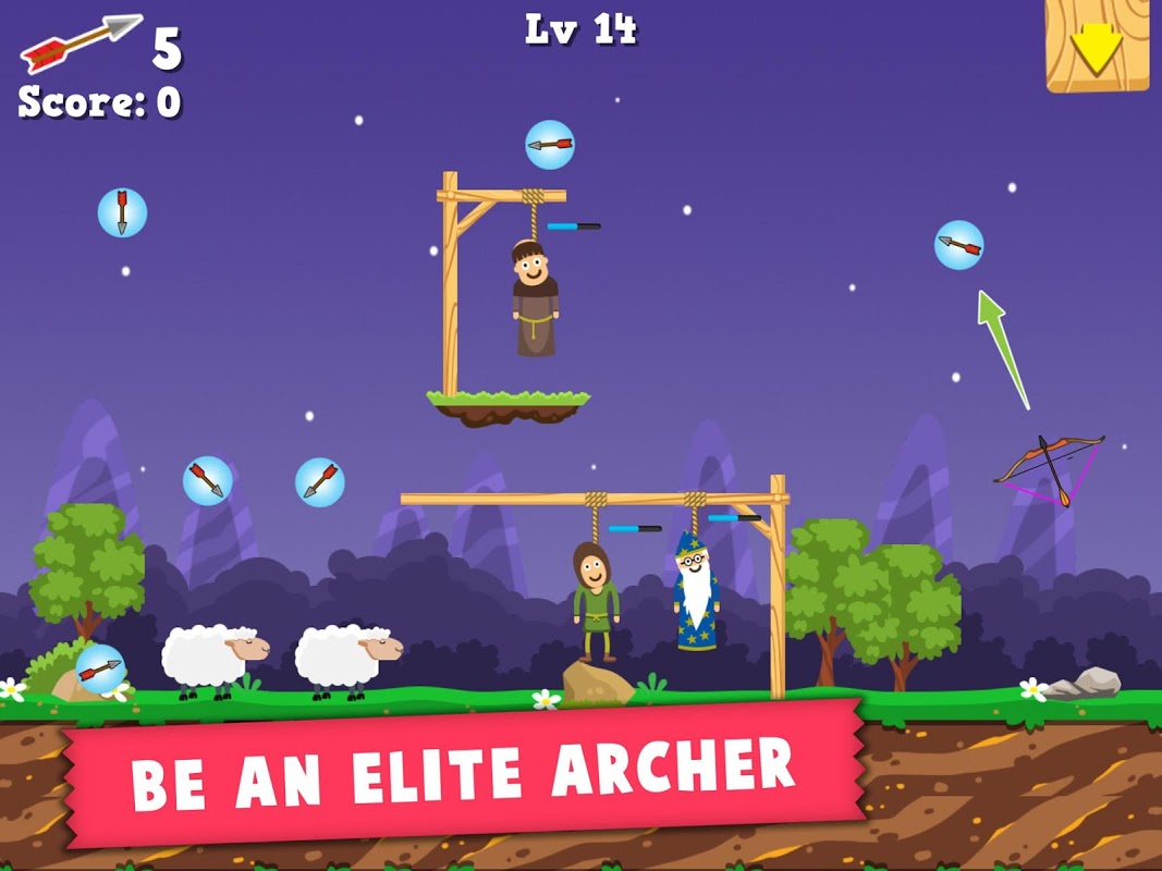 Android Robin Wood - The Epic Archer Screen 2