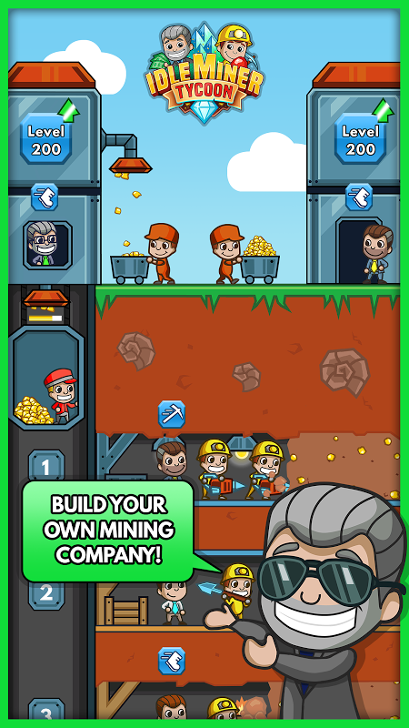 Android Idle Miner Tycoon Screen 2