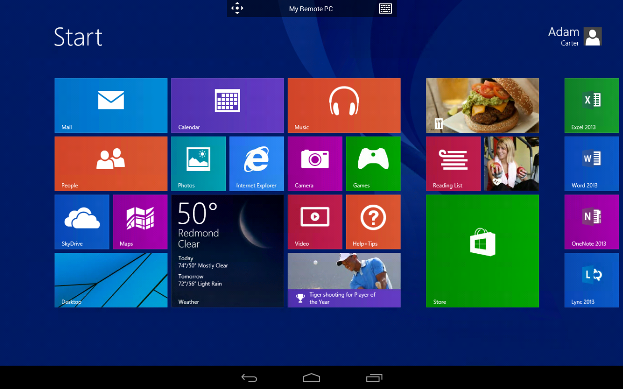 Microsoft Remote Desktop 8.0.5.24406 Screen 1