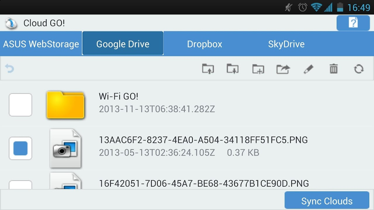 Wi-Fi GO! & NFC Remote V2.1.04 Screen 2