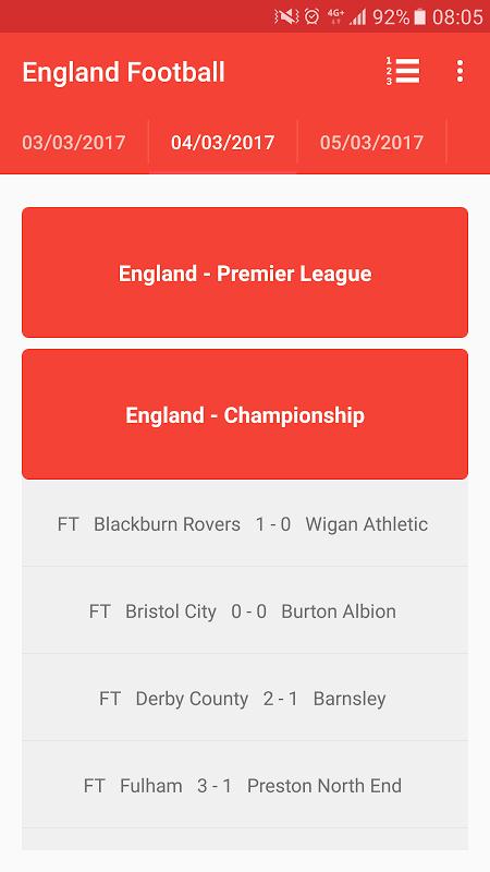 English Premier League 3.0 Screen 3