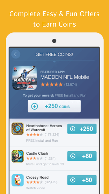 Android Turbo Coin Manager - get free coins for 5000 insta likes and followers for Instagram Screen 1