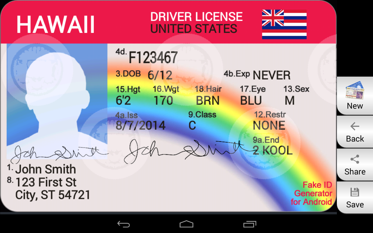 Fake ID Generator 2 1 APK Download by Bug Byte Apps