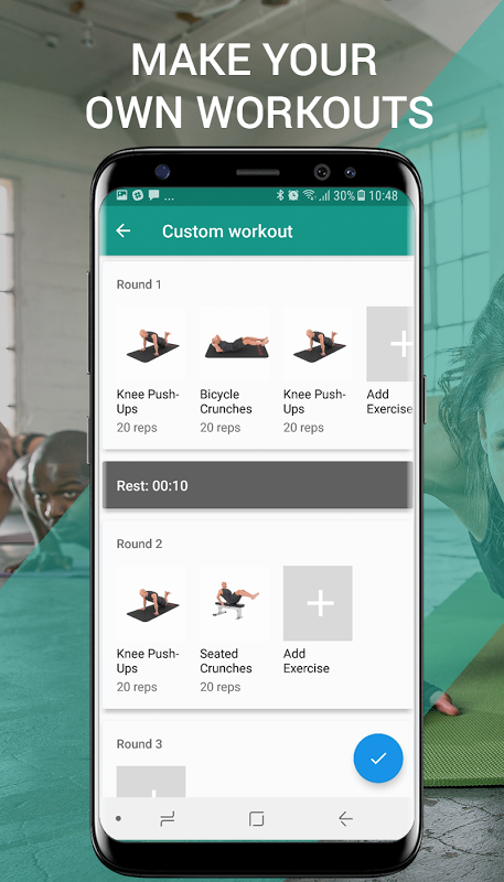 Android 7 Minute Workouts Screen 6