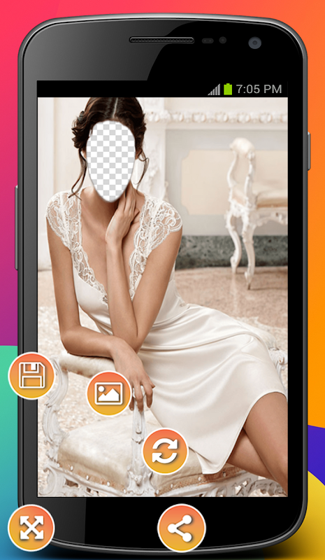 Android Women Nightwear Photo Montage Screen 2