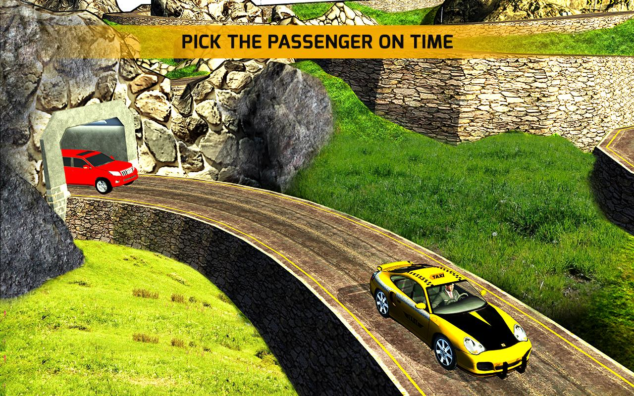 Android Mountain Crazy City Cab Driver Taxi Game 2018 Screen 2
