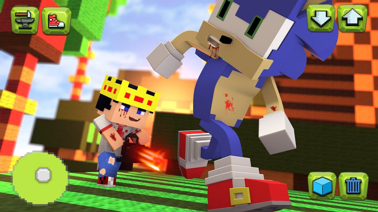 Sonic BOOM Craft - Parkour Hero 2.0 Screen 1
