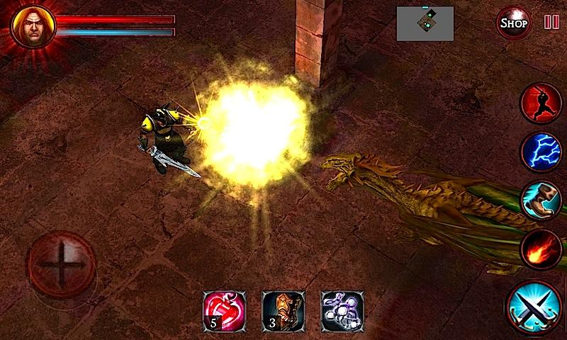 Android Dungeons and Demons  - RPG Quest Screen 1