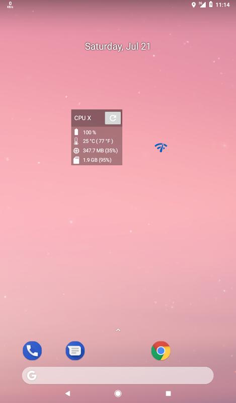 CPU X : Device & System info 2.8.1 Screen 6