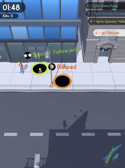 Android Hole.io Screen 5