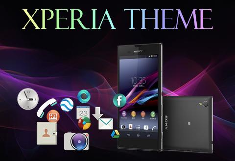 Android Xperia Theme Screen 1
