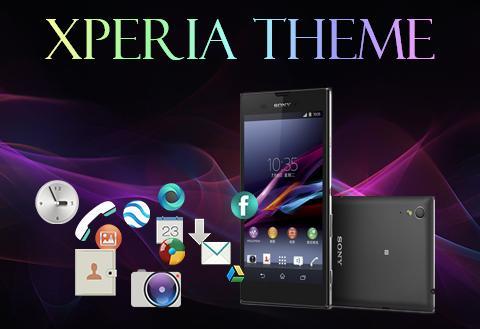 Android Xperia Theme Screen 1