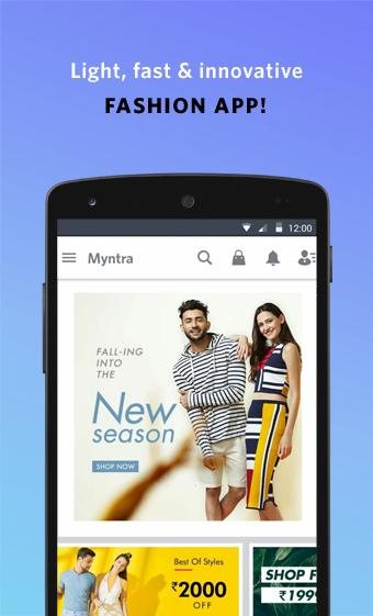 Android Myntra Online Shopping App Screen 9