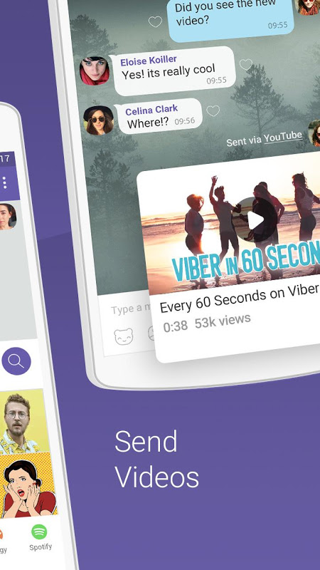 Android Viber Messenger Screen 11