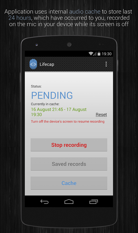 Audio recorder: Lifecap APKs | Android APK