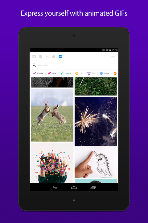 Android Yahoo Mail – Stay Organized Screen 10