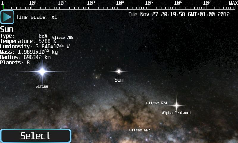 Android Space Flight Simulator Lite Screen 4