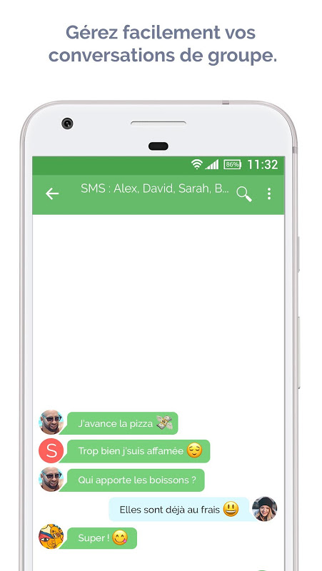 Android Mood Messenger - SMS & MMS Screen 3