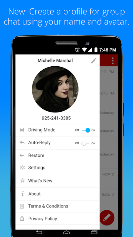 Android Verizon Messages Screen 7