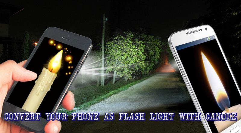 Android Candle FlashLight Screen 3