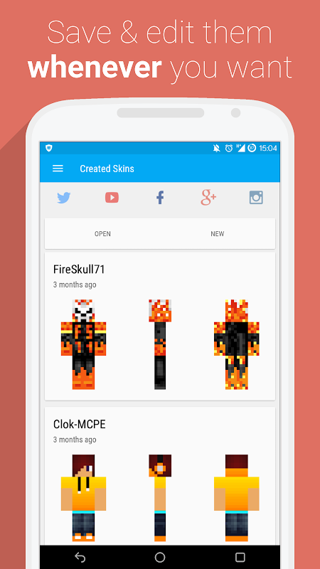 UTK.io for Minecraft PE 1.1 beta4 Screen 4