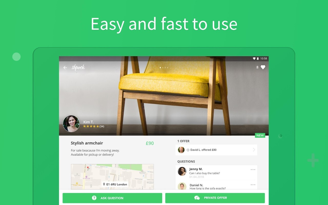 Shpock - Local Marketplace. Buy, Sell & Make Deals 7.2.3 Screen 2