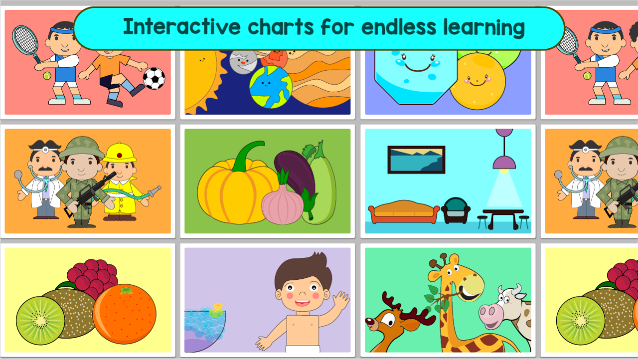 Android Kindergarten Kids Learning : Educational Games Screen 4