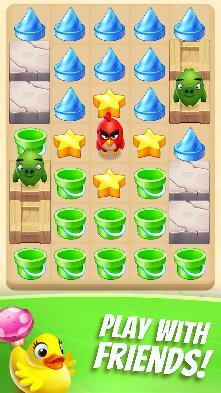 Android Angry Birds Match Screen 14