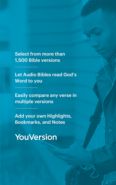 Android Bible: Daily Verse, Study, Audio and Devotions Screen 5