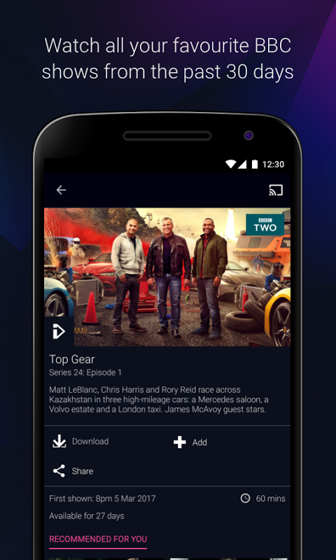 BBC iPlayer 4.38.0.3 Screen 4