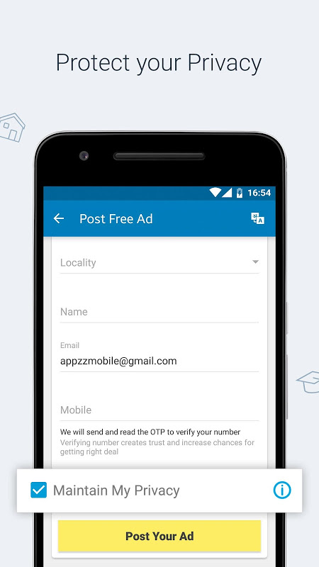 Quikr Free Local Classifieds 9.64 Screen 1