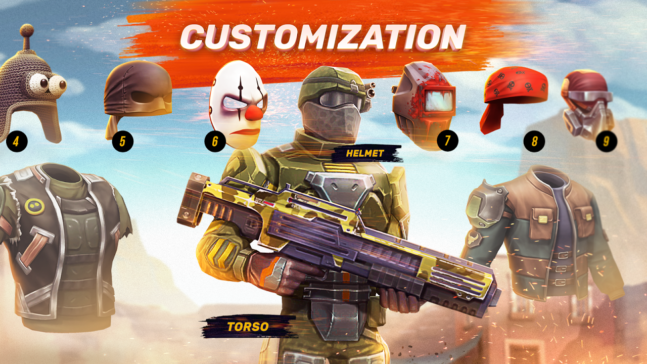Android Guns of Boom - Online Shooter Screen 4