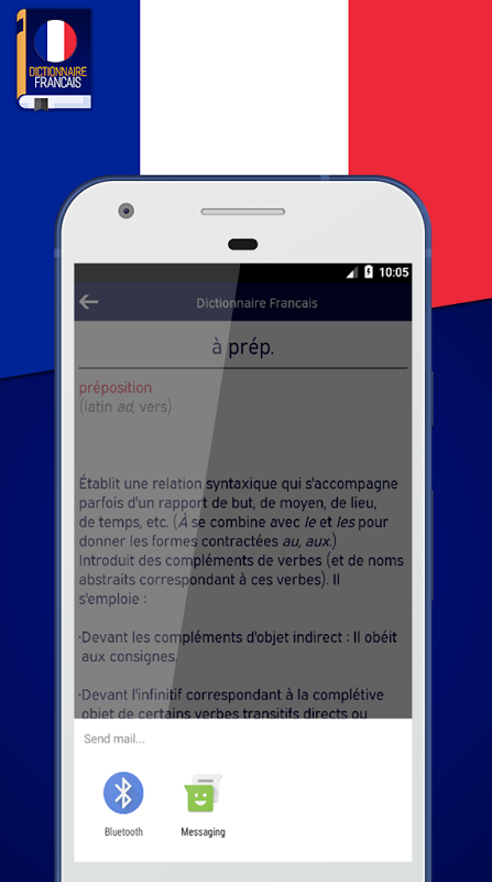 Android Dictionnaire Francais Screen 3
