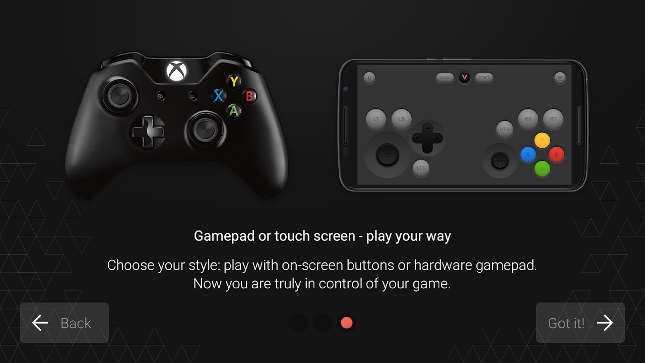 Vortex Cloud Gaming 1.0.226 Screen 2