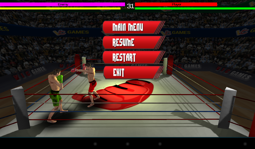 3D Boxing 2.3 Screen 3