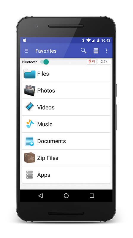 Bluetooth Files Share 7.7.6 Screen 4