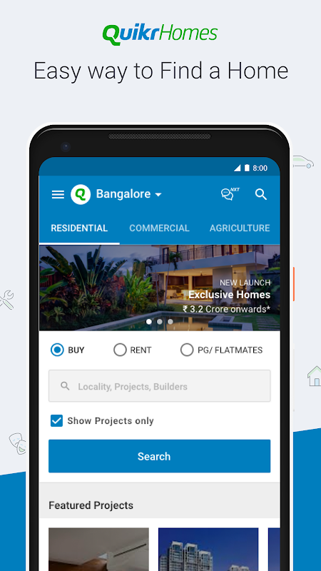 Android Quikr – Search Jobs, Mobiles, Cars, Home Services Screen 4